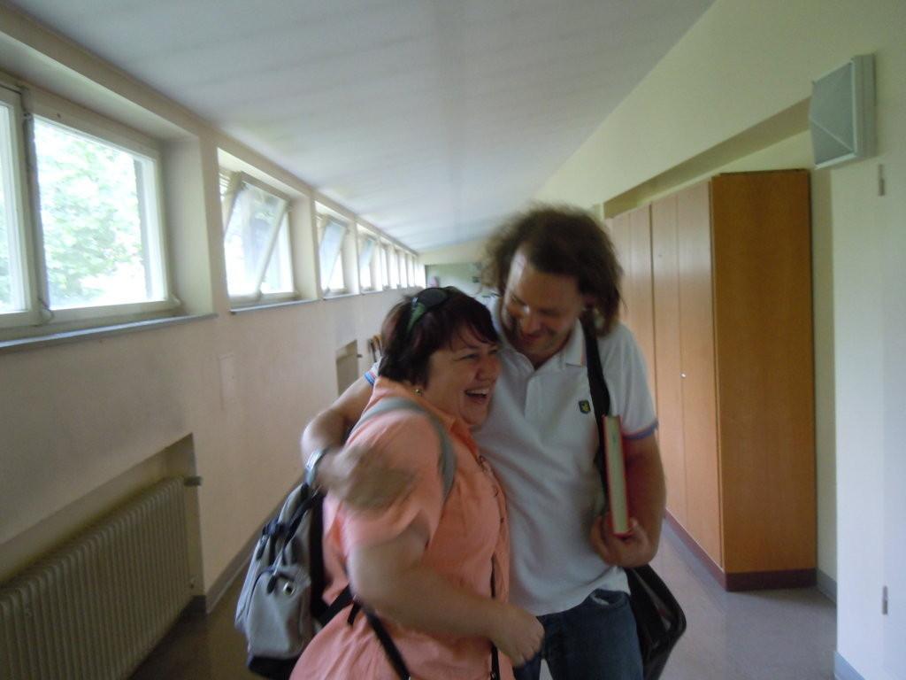 Dr. Brnická und Daniel Kresic