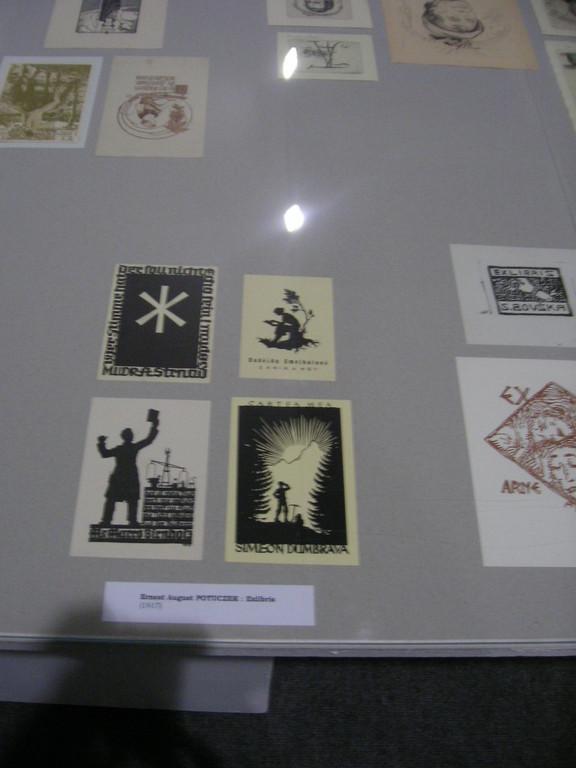 Unter den Karlsbader Ausstellungssstücken befanden sich auch Grafiken von ernest Potuczek-Lindenthal