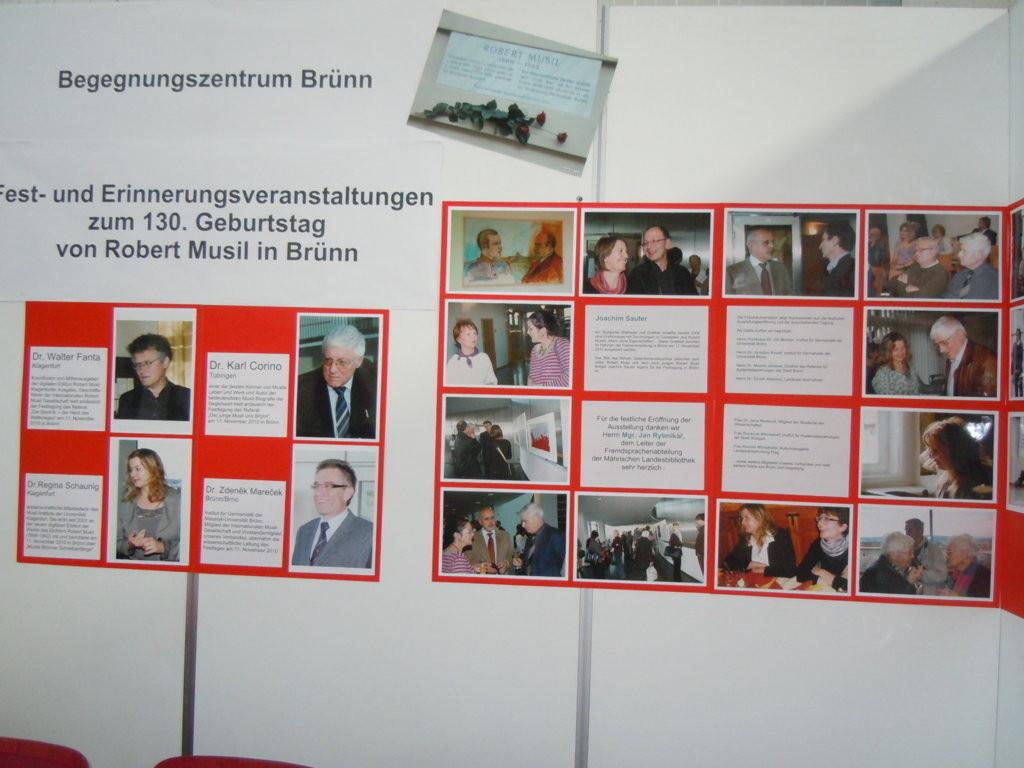 Dr. Walter Fanta, Dr. Karl Corino, Dr. Regine Schaunig sowie der wissenschaftliche Leiter der Veranstaltung, Dr. Zdenek Marecek
