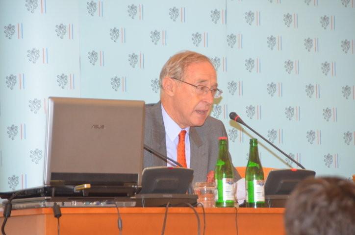 S.E. Dr. Ferdinand von Trauttmannsdorf, Botschafter der Republik Österreich