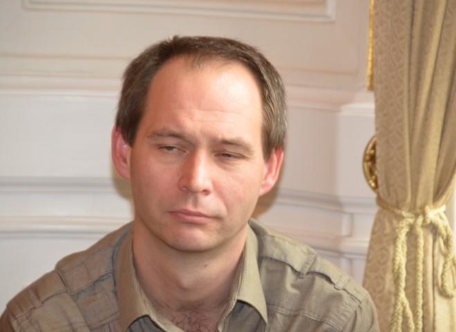 Mgr. Jan Rybnikář, Leiter der Deutschen und Österreichischen Bibliothek in der Mährischen Landesbibliothek