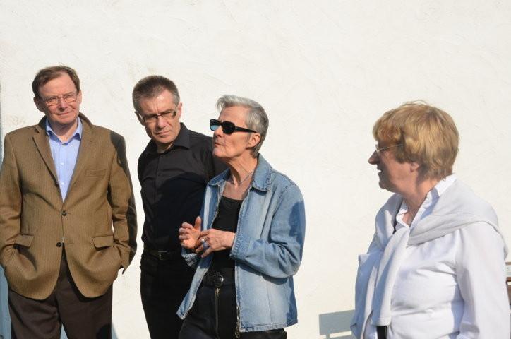 Professor Dr. Hans Dieter Zimmermann, Berlin, Dr. Zdeněk Mareček, Brünn, Frau Tina Stroheker, Eislingen