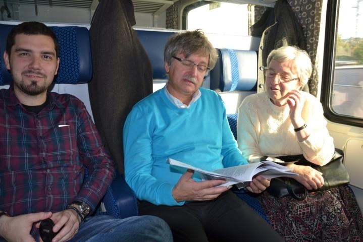Anfahrt nach Prag zur Großveranstaltung 2013