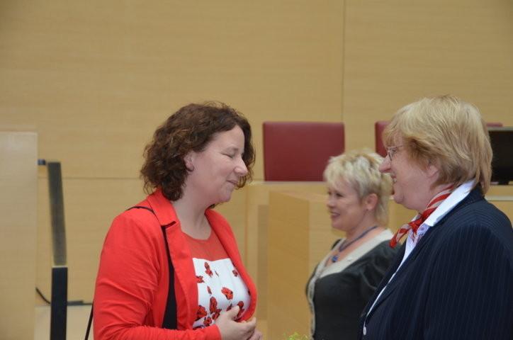Frau Frau Ruth Müller, SPD Landtagsabgeordnete