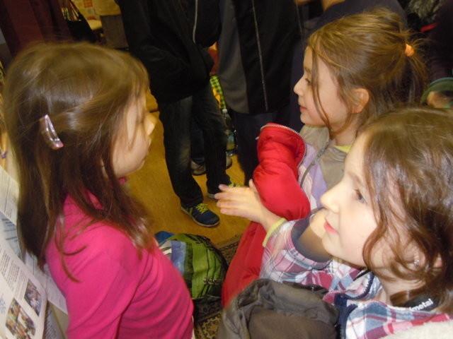 Ankunft der Kinder im BGZ Brünn