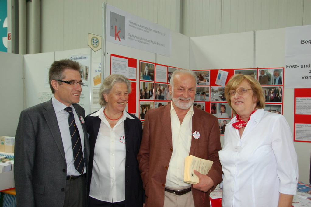 Dr. Marecek, Frau Helga und Herr Horst Löffler