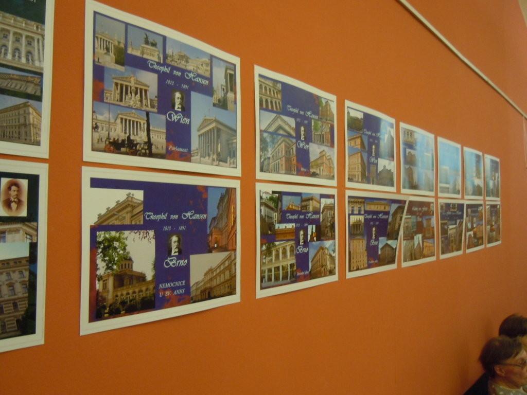 """Ausstellung über die """"Brünner Ringstraße"""" erbaut durch bekannte Wiener Architekten/ Autor: Dr. Lisa Tučková"""