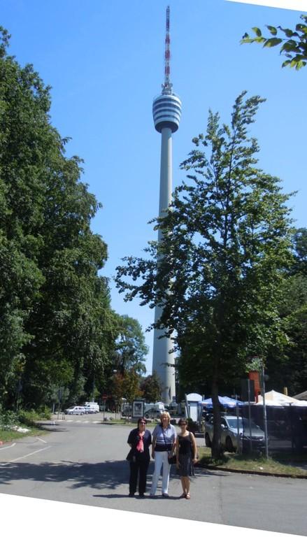 Nachmittags geht es zum Stuttgarter Fernsehturm