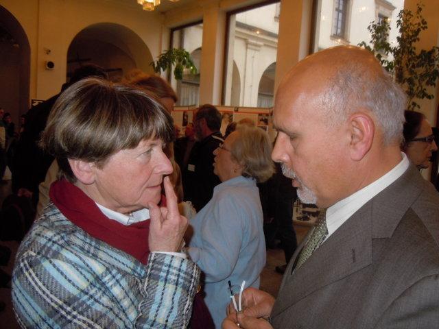 Dr. Alena Wagnerova im Gespräch mit Dr. Mojmír Jeřábek