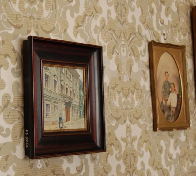 ..das Abbild des Stadthausesder Familie  in Brünn