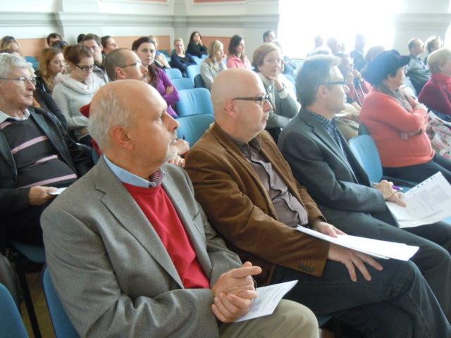 Zu den Ehrengästen des Nachmittags gehört  PhDr. Mojmír Jeřábek, der Direktor des Auslandsreferats der Stadt Brünn