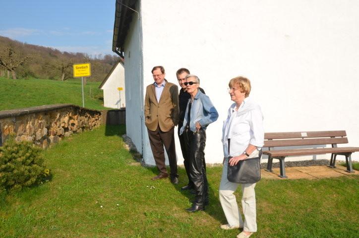 Professor Dr. Hans Dieter Zimmermann, Berlin ,Dr. Zdeněk Mareček,Brünn, Frau Tina Strohecker, Eislingen