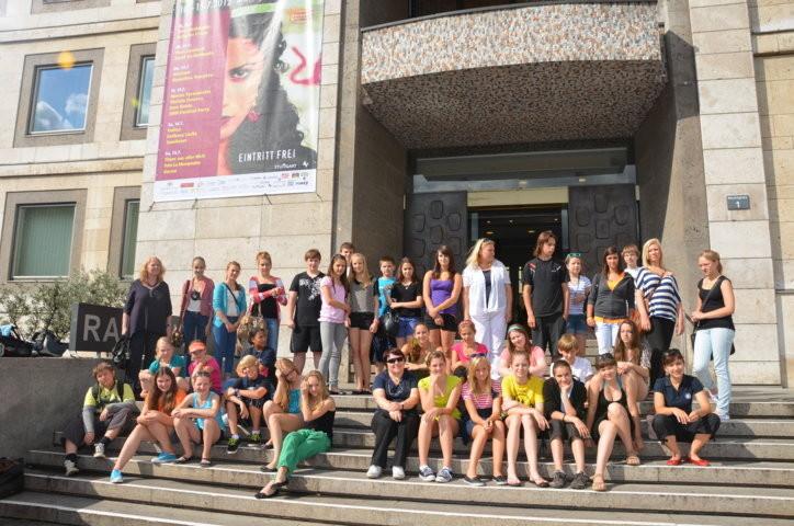 Am nächsten Tag folgte der Empfang im Stuttgarter Rathaus