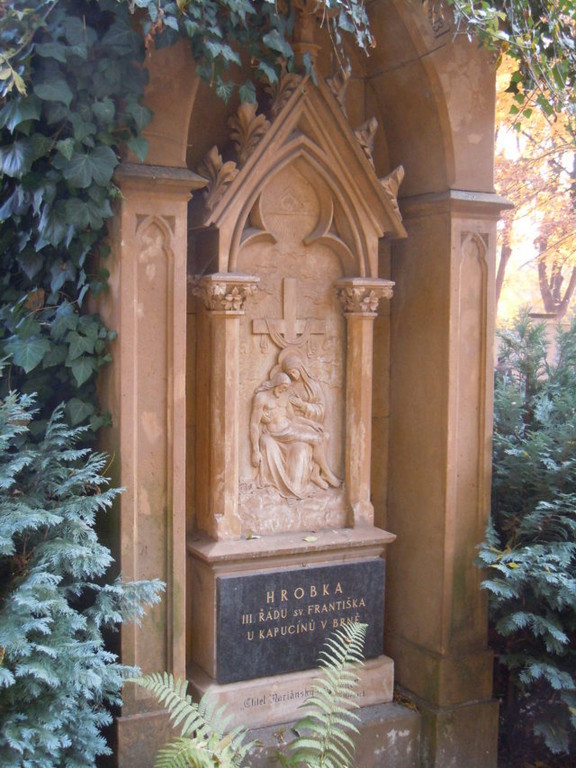 Grabstätte der Mitglieder des Ordens des Hl. Franziskus (Kapuzinerkirche Brünn)