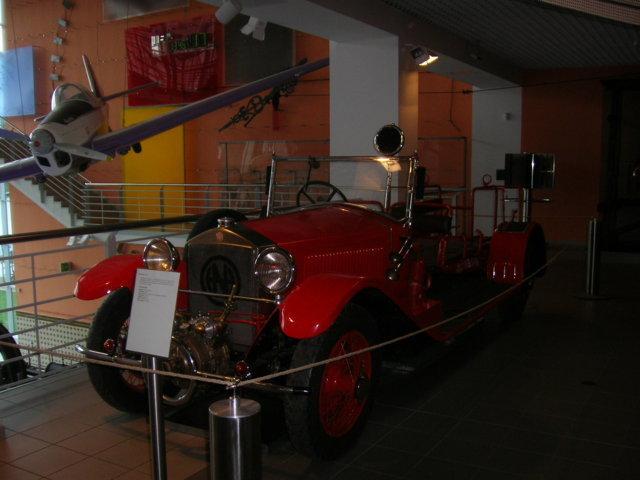 ...und im Technischen Museum selbst findet man ..