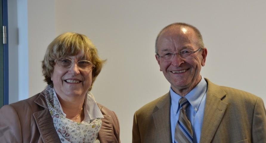 Herr Dr. Martin Bachstein willkommen in Augsburg 2013