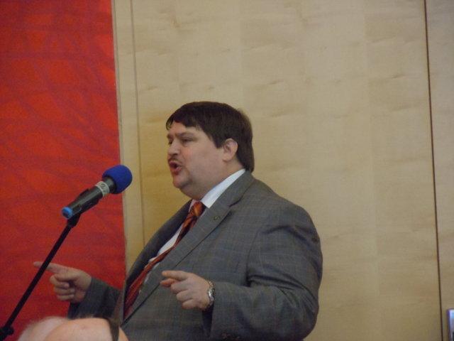 Bernd Posselt spricht über Themen der EU