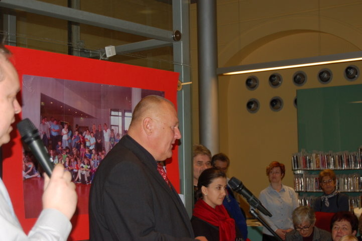 Herr Herbert Medek, Mitglied der Stuttgarter Delegation in Brünn