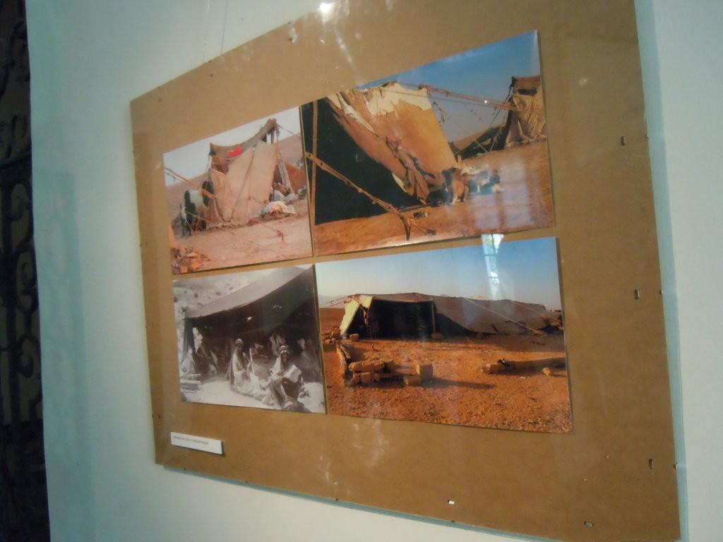 Abbildungen originaler Beduinenzelte