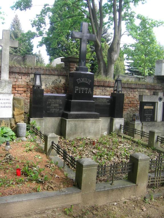 Familie Pitta lebte einst in Altbrünn