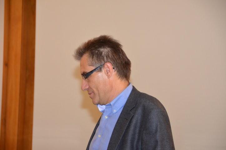 PhDr. Zdeněk Mareček, der freundlicherweise die Konzeption und Moderation der Veranstaltung durchührte