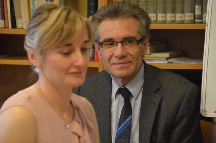 Frau Iveta Tomáštíková berichtet über Kronprinzessin Stephanie