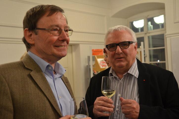 Professor Dr. Hans Dieter Zimmermann, Berlin llinks