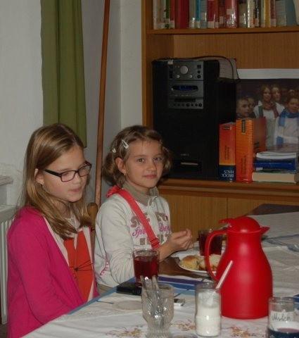 """...auch """" unsere"""" Kleineren des Kurses für deutsche Sprache für Kinder sind dabei...."""