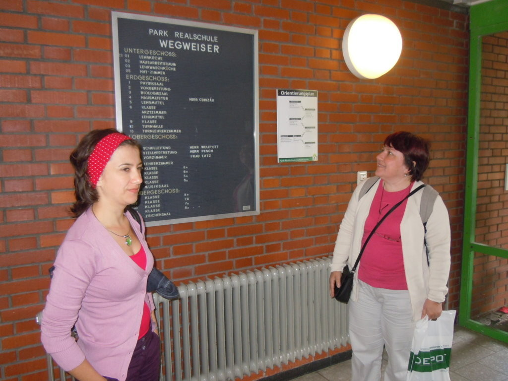 Weitere Gesprächsrunde in der Park-Realschule in Stuttgart