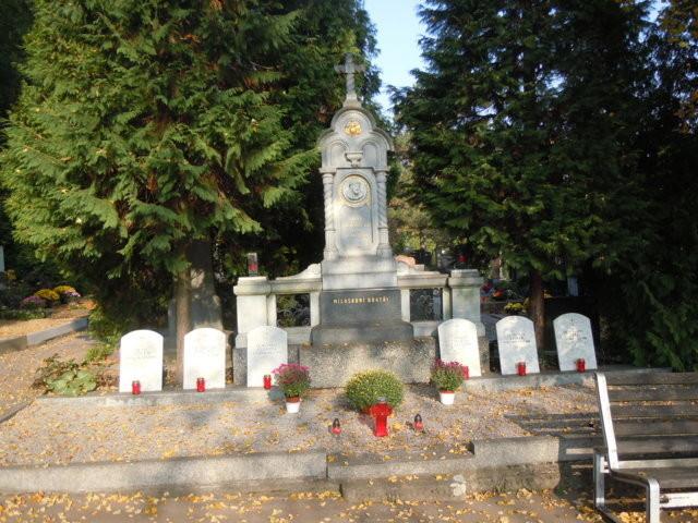 Die Grabstätte der Angehörigen des Ordens der Barmherzigen Brüder (St. Johann von Gott)