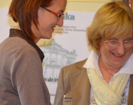 Wir freuen uns über die ausgezeichnete Präsentation von Frau Dočkalová