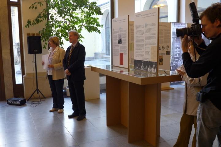 Ehrengast der Veranstaltung: Herr Ralf Kaufmann, 1.Botschaftssekretär der Botschaft der Bundesrepublik Deutschland in Prag