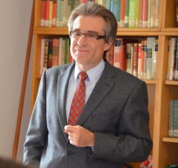 Dr. Zdeněk Mareček schließt  den Vormittag mit einer Erinnerung an Prager Autorendeutscher Sprache, die einst im Brünner Stadttheater gewirkt haben