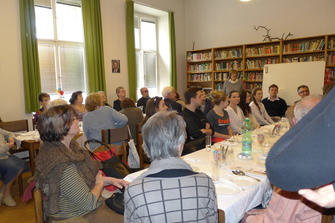 Auch die jungen Studierenden unseres Debattierclubs in deutscher Sprache berichten über ihre Erfahrungen