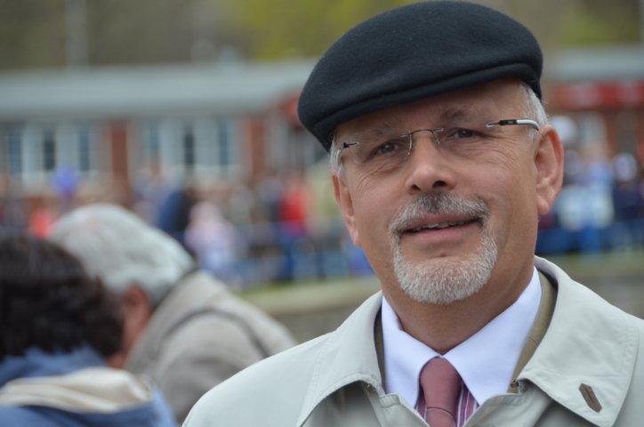 Dr. Mojmír Jeřábek, Direktor des Auslandsreferats der Stadt Brünn