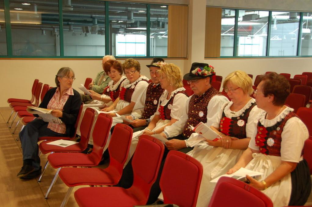 Wischauer bei Vortrag Dr. Marecek über deutschsprachige Literatur