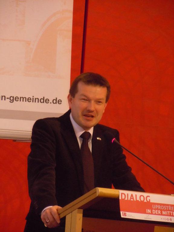Martin Kastler, Bundesvorsitzender der Ackermann Gemeinde
