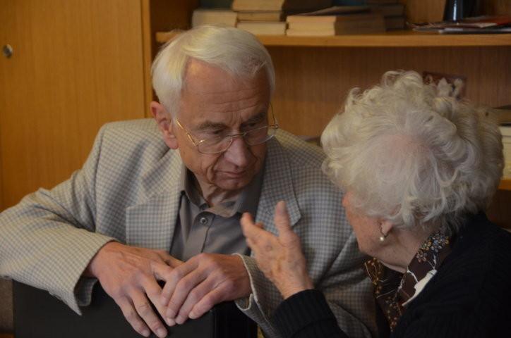 -- und auch ältere Mitglieder der deutschen Minderheit  sind an unserem Workshop interessiert