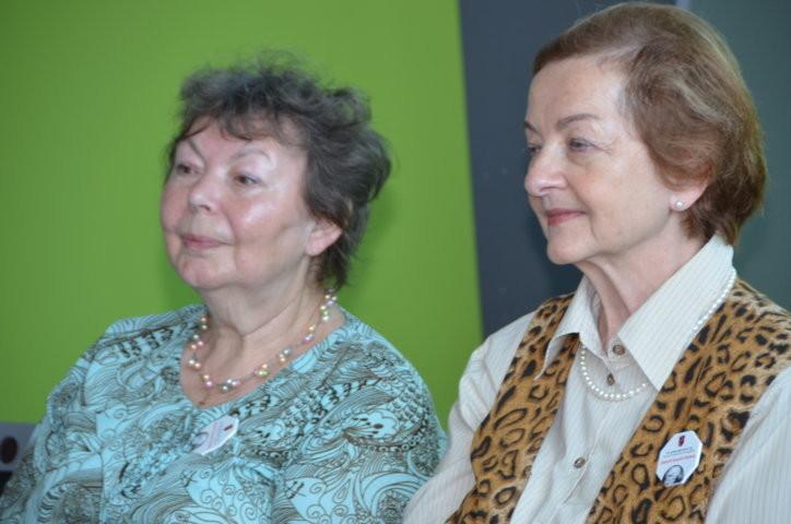 Frau Lotte Procházková und Frau Milena Tesařová BGZ Brünn
