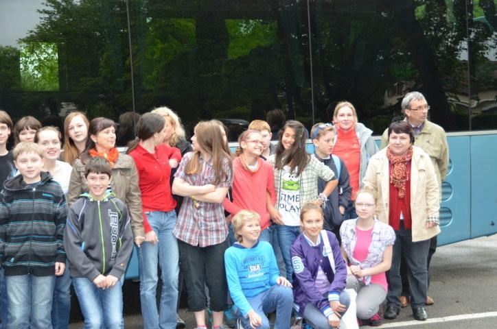 ..das sind unsere Freunde und Freundinnen aus Brünn ....