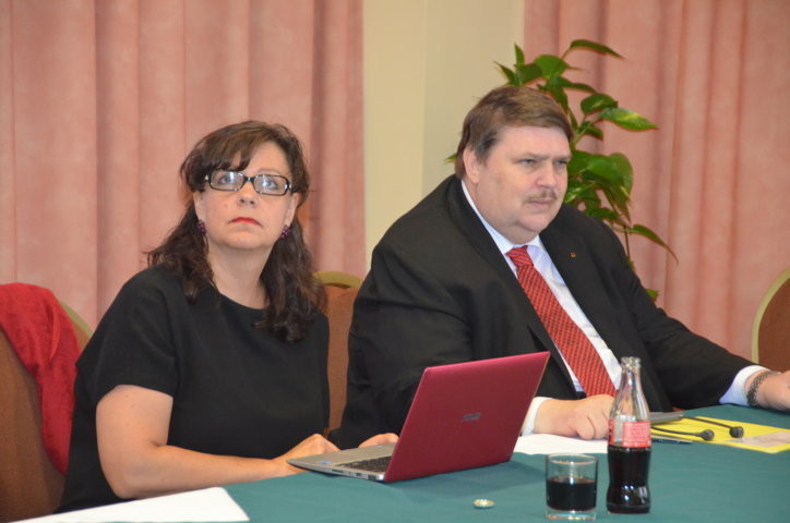 Frau Michaela Marksová, Ministerin Prag
