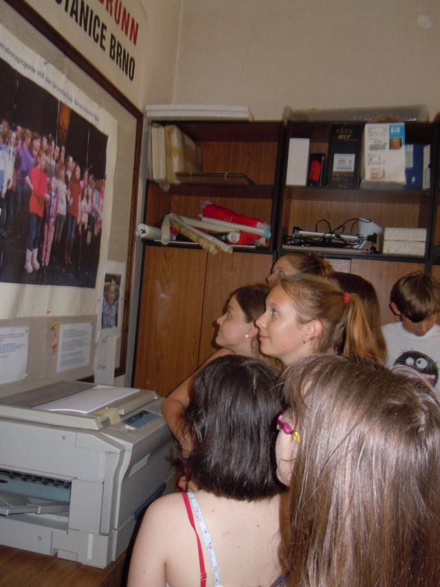 Das Büro des BGZs wurde vorübergehend zur Umkleidekabine für die jungen Talente