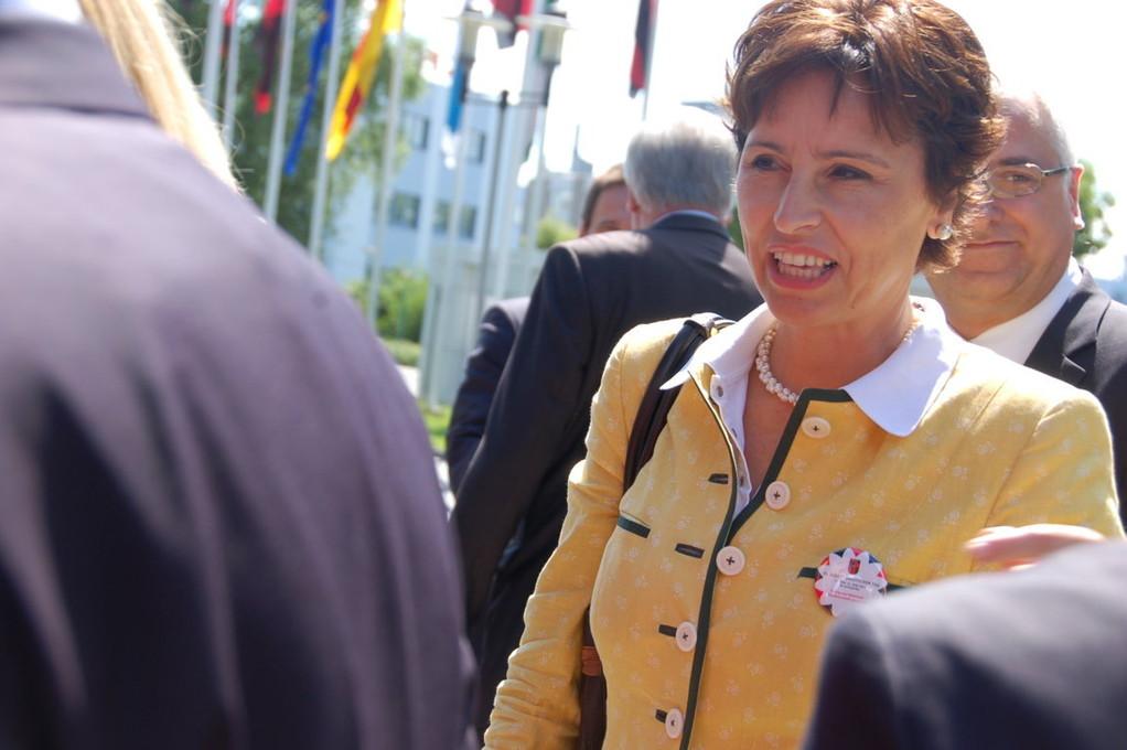 Christine Haderthauer, Ministerin für Soziales Bayern