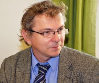 Professor Dr. Knoz, der Prodekan der Philosphischen Fakultät in Brünn gehört ebenfalls zu den Ehrengästen des Vormittags