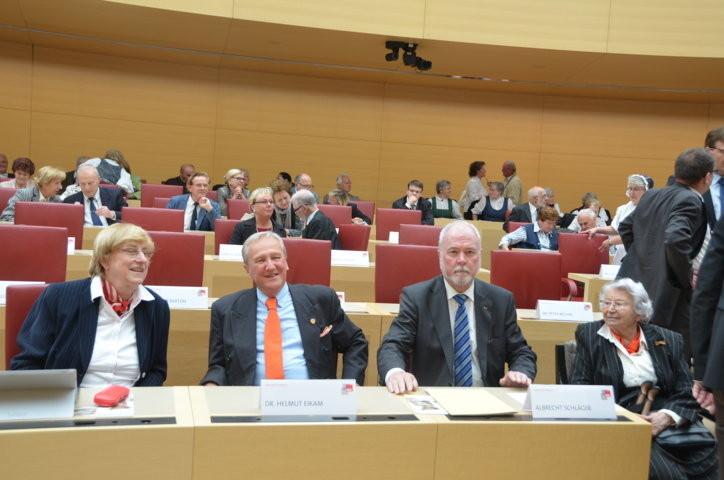 Hanna Zakhari, Dr.Helmut Eikam, Albrecht Schläger