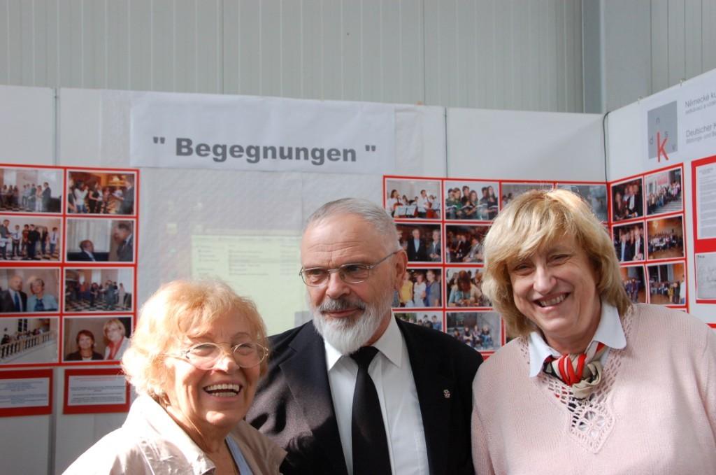 Frau Gertrud Trepková, BGZ Pilsen, Msgr. Anton Otte, Ackermann Gemeinde