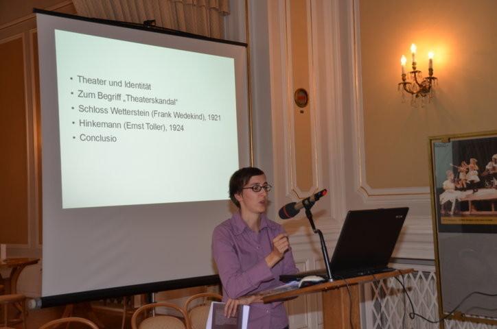 Frau Dr. Katharina Wessely berichtet über das Brünner Theater der Zwischenkriegszeit