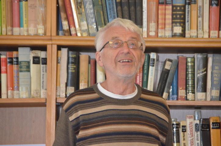 Dr. Vojen Drlík berichtet aus der Musil-Biografie von dr. Karl Corino, Tübingen über Robert Musil und den ersten Weltkrieg