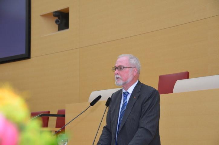 Albrecht Schläger würdigt Bernd Posselt
