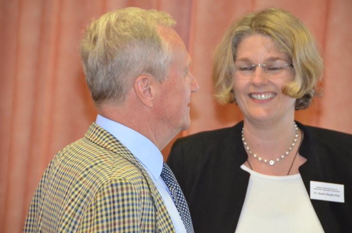 Herr Dr. Eikam und Frau Dr. Beate Sybille Pfeil